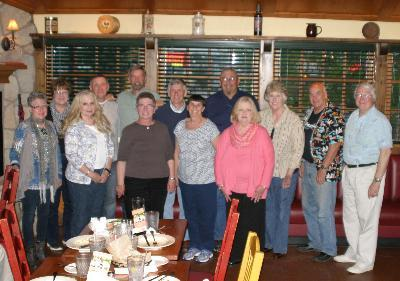 Class of 1966 at Carino's - Saturday, May 17th, 2014