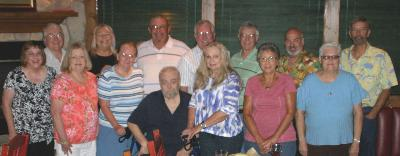 Class of 1966 at Carino's - Saturday, August 16th, 2014