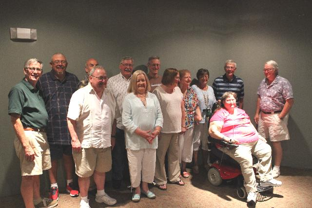 Class of 1966 at the Dining Car, Saturday, August 15th, 2015