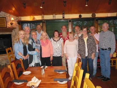 Class of 1966 at Carino's - Saturday, May 21st, 2016