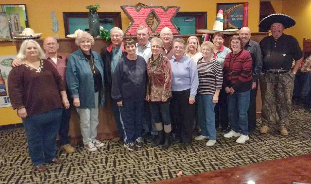 Class of 1966 at Los Luna's - Saturday, November 19th, 2016
