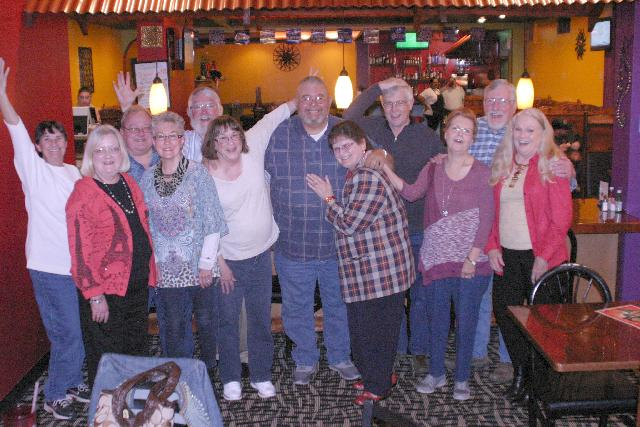 Class of 1966 at Los Luna's - Saturday, February 18th, 2017