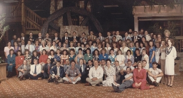 1986 - 20 Year group photo